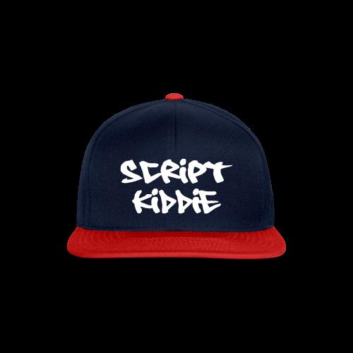 Cap mit Aufdruck Script Kiddie - Snapback Cap