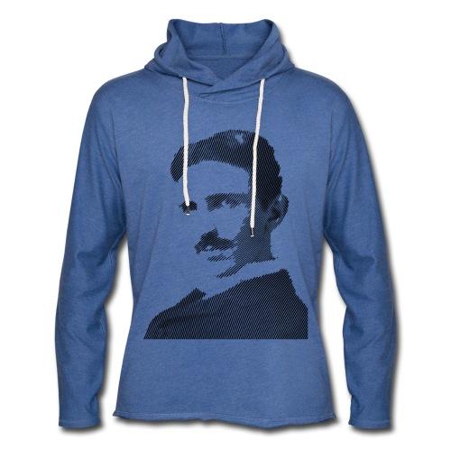 Nikola Tesla - Leichtes Kapuzensweatshirt Unisex