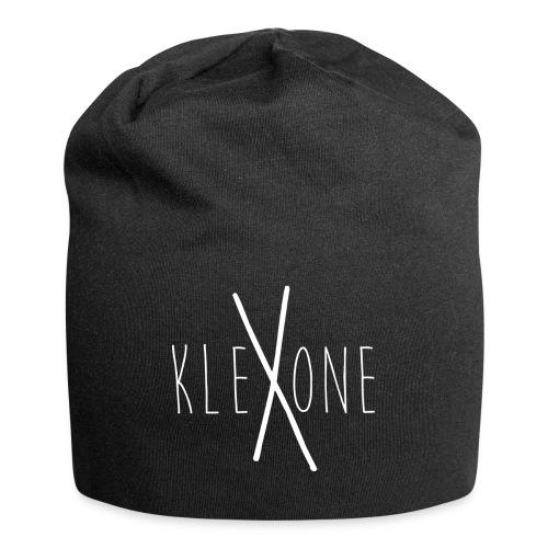 kleXone Mütze schwarz - Jersey-Beanie