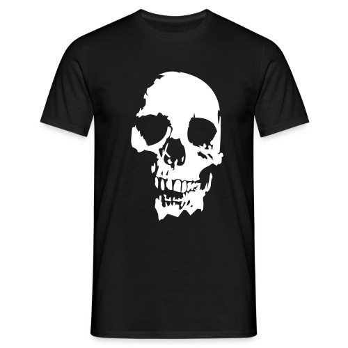 Large skull - Men's T-Shirt