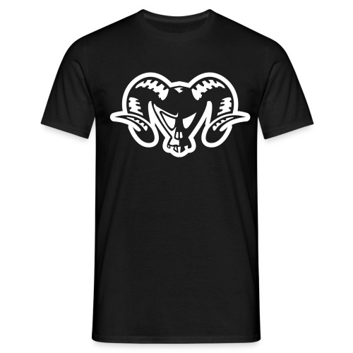 ram skull - Men's T-Shirt