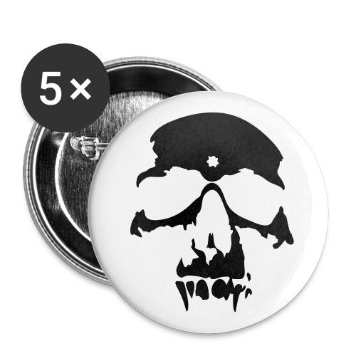 Skull - Rintamerkit isot 56 mm (5kpl pakkauksessa)