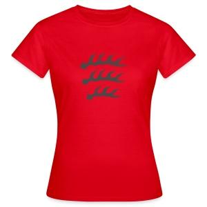 Schwaben Geweih - Mädle - Frauen T-Shirt