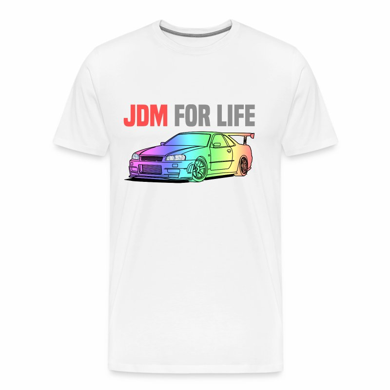 JDM for Life Skyline R34 - Men's Premium T-Shirt