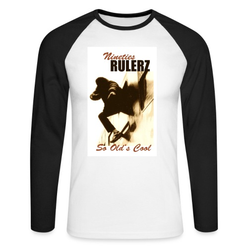 Rulerz So Old's Cool - Männer Baseballshirt langarm
