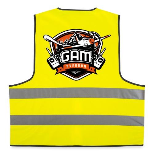 Gillet jaune - Gilet de sécurité