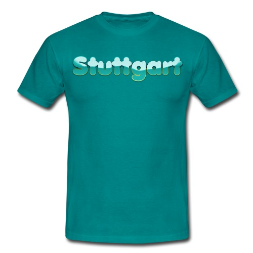 Serenity Klein Stuttgart - Männer T-Shirt