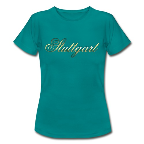 Merry Christmas Stuttgart - Frauen T-Shirt