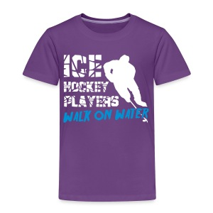 Ice Hockey Players Walk on Water Children's T-Shirt - Kids' Premium T-Shirt