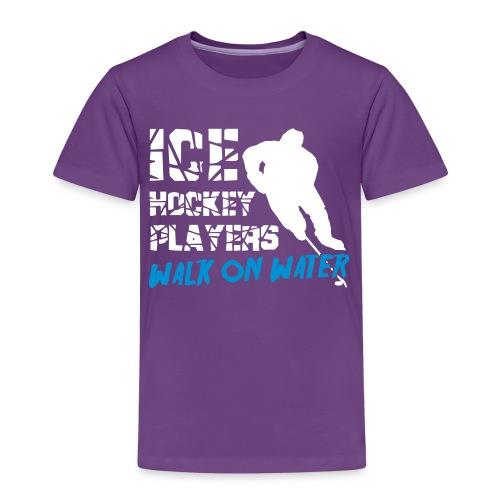 Ice Hockey Players Walk on Water Children's T-Shirt - Kids' Premium T-Shirt