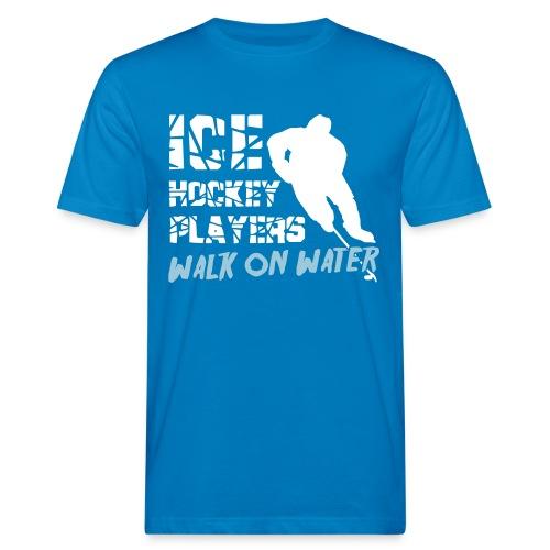Ice Hockey Players Walk on Water Men's Organic T-Shirt - Men's Organic T-Shirt