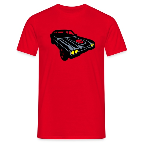 Muscle car - Camiseta hombre