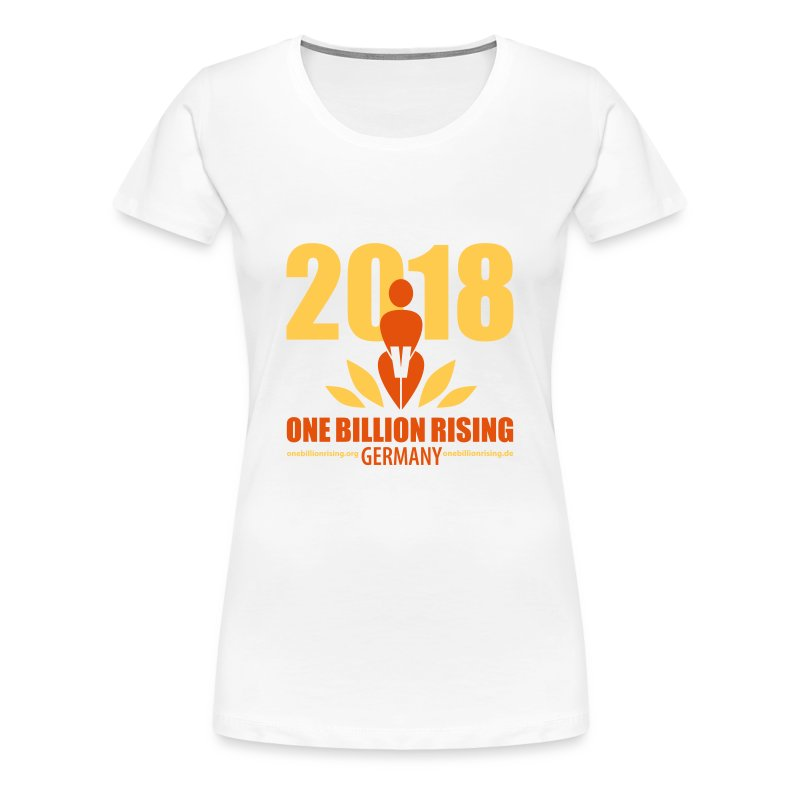 One Billion Rising 2018 Germany - Frauen Premium T-Shirt