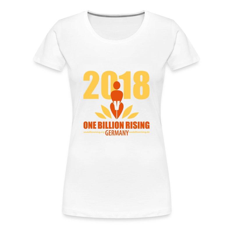 One Billion Rising 2018 Germany - Frauen Premium T-Shirt
