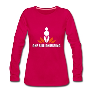 OBR - One Billion Rising - Frauen Premium Langarmshirt