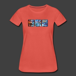 3 Windows - Women's Premium T-Shirt