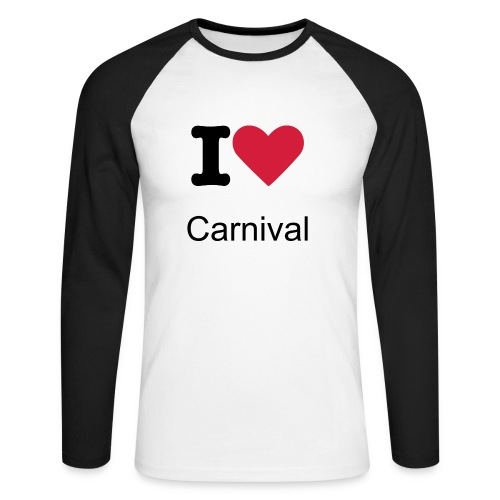 Carnival Long Sleeve - Men's Long Sleeve Baseball T-Shirt