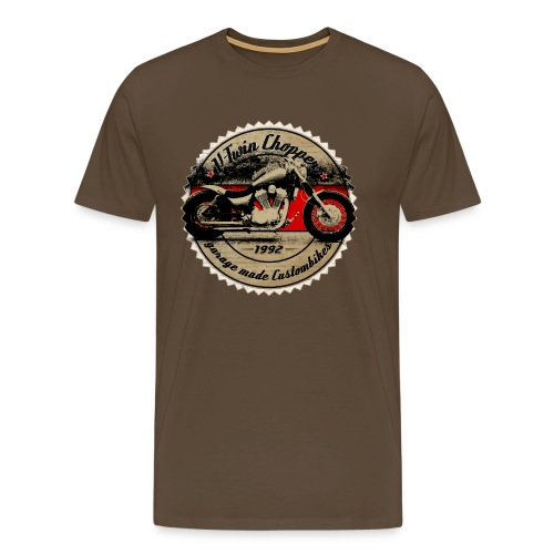 CHROMELESSAPPAREL // V2 CHOPPER VOL.2 - Männer Premium T-Shirt