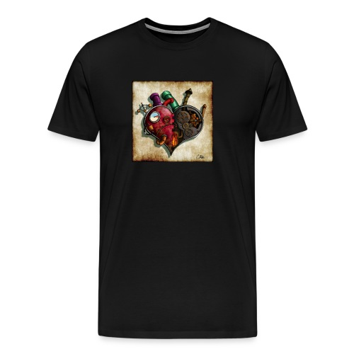 The Clockwork Heart - Men's Premium T-Shirt