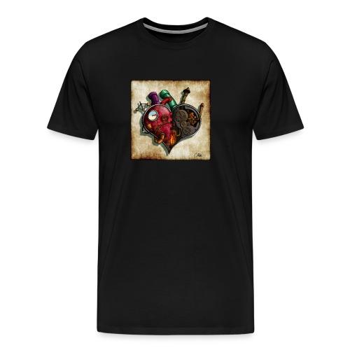 The Clockwork Heart - Men's Premium T-Shirt