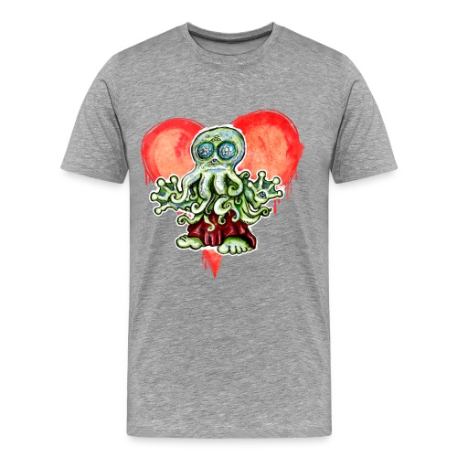 I Love Cthulu - Männer Premium T-Shirt