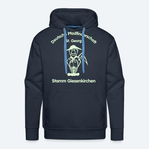 """Kapuzenpullover mit Logo """"Nightglow"""" - Männer Premium Hoodie"""