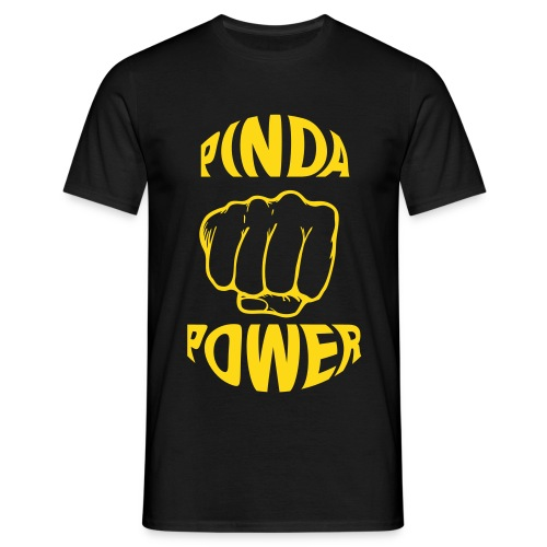 Pinda Power shirt - Mannen T-shirt