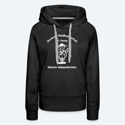 Kapuzenpullover Frauen mit Logo - Frauen Premium Hoodie