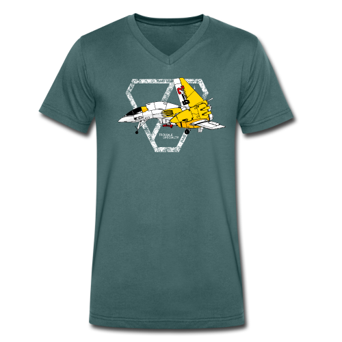 Buster2 - Men's Organic V-Neck T-Shirt by Stanley & Stella