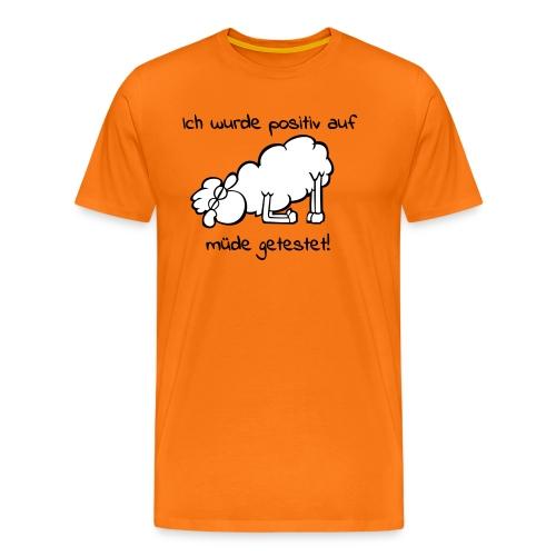 Müdes Schaf - Männer Premium T-Shirt