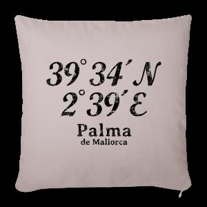 Palma de Mallorca Koordinaten Vintage Black