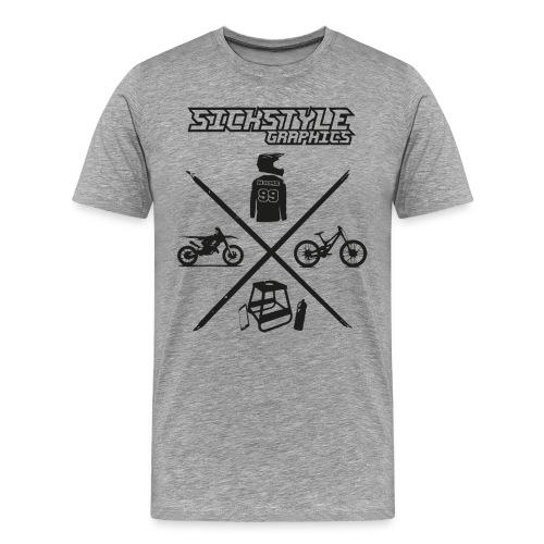 Sickstyle T-Shirt - Männer Premium T-Shirt