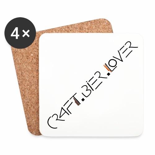 Untersetzer craft.bier.lover - Untersetzer (4er-Set)