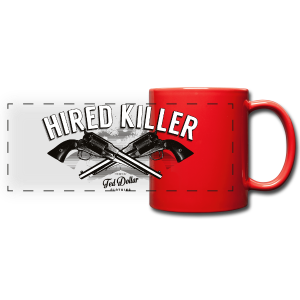 Hired Killer - Tasse panoramique en couleur