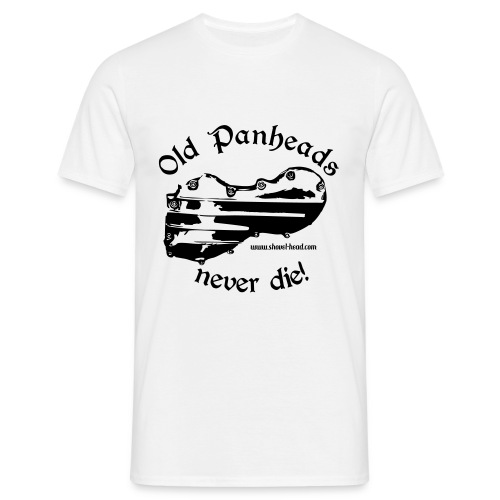 Old Panheads never die! - Männer T-Shirt