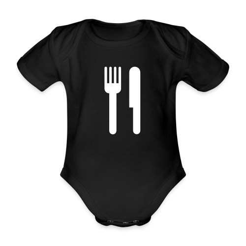 Eat One-piece - Organic Short-sleeved Baby Bodysuit