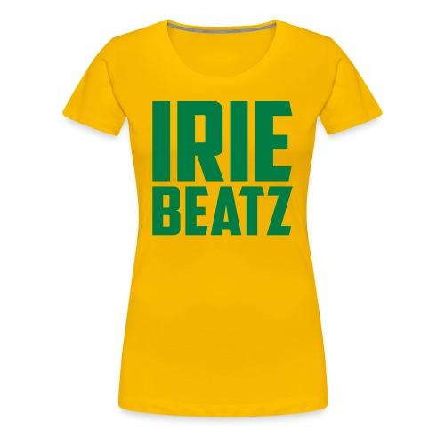 Irie Beatz Frauen Shirt reggaegirl - Frauen Premium T-Shirt