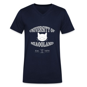 T-shirt University of Miaooland homme - T-shirt Homme col V