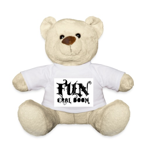 FUNeral doom bear white - Teddy Bear