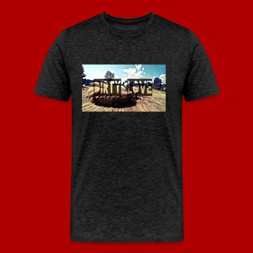 Dirty Love - Männer Premium T-Shirt