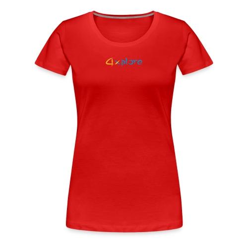 4xplore - Frauen Premium T-Shirt