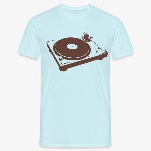 DJ Turntable - Männer T-Shirt