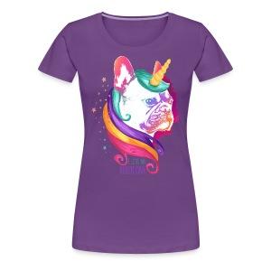I love my Bullycorn - Frauen Premium T-Shirt