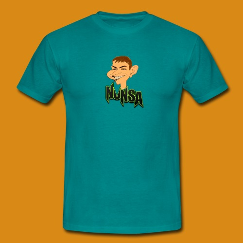 NUNSA com Caricatura - Men's T-Shirt