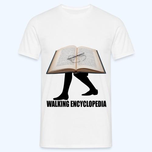 Walking Encyclopedia - Men's T-Shirt