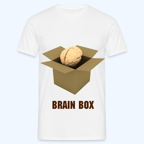 Brain Box T-Shirt - Men's T-Shirt