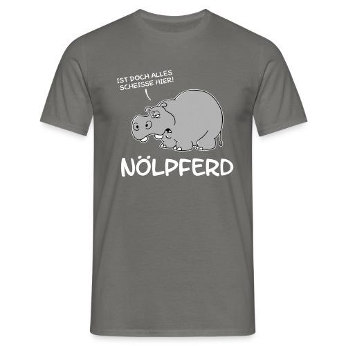 Nölpferd - Männer T-Shirt