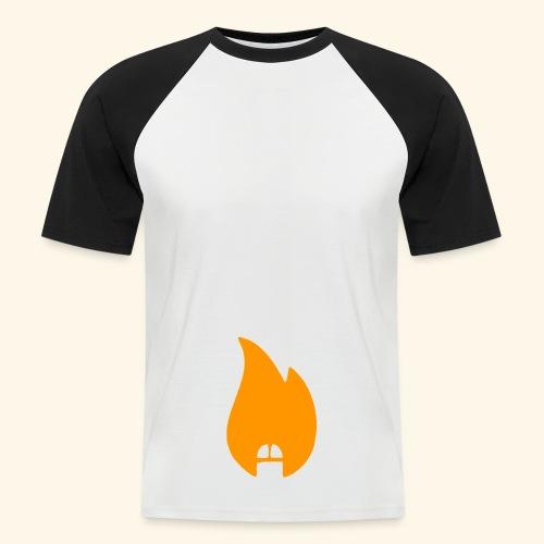 dickonfire blue - Men's Baseball T-Shirt