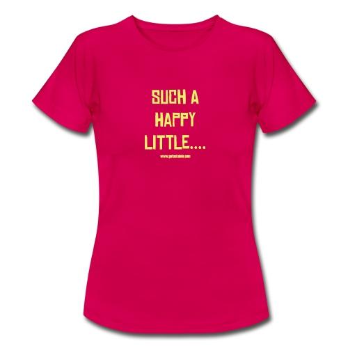 Got A Ukulele Happy shirt ladies - Women's T-Shirt