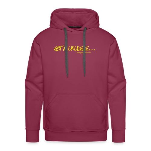 Got A Ukulele Mens hoodie - Men's Premium Hoodie
